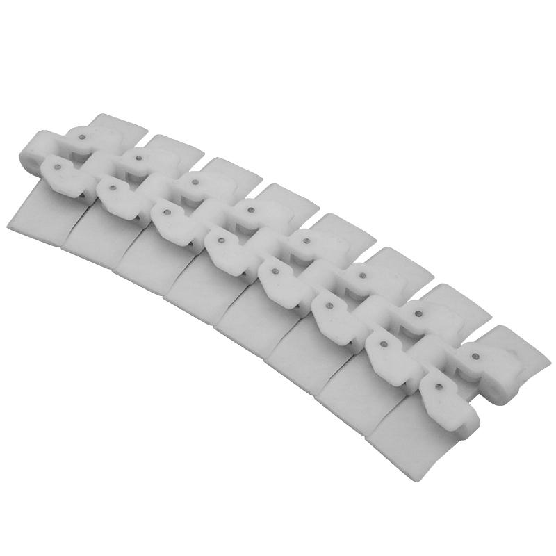 Straight Running Plastic Conveyor Table Top Chain With Single Hinge HRT114