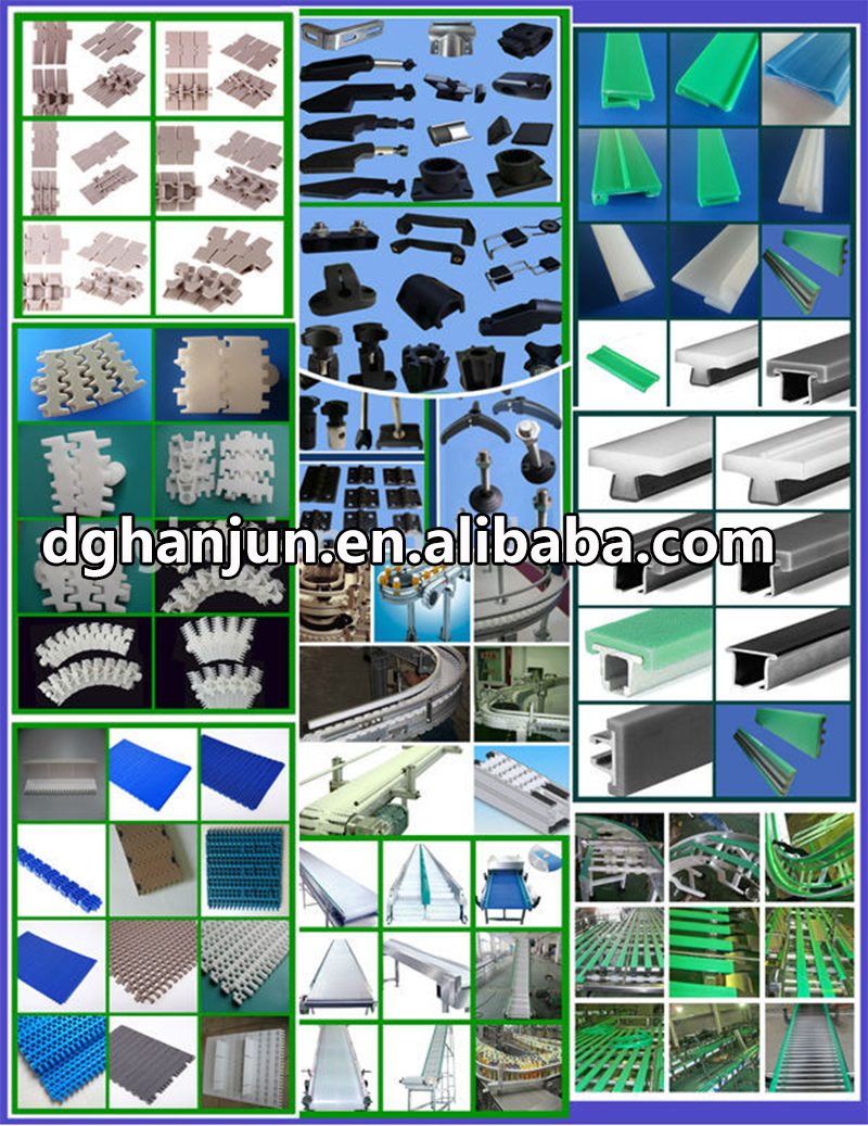 DHP adjustable gravity conveyor parts customized for drag chain-8