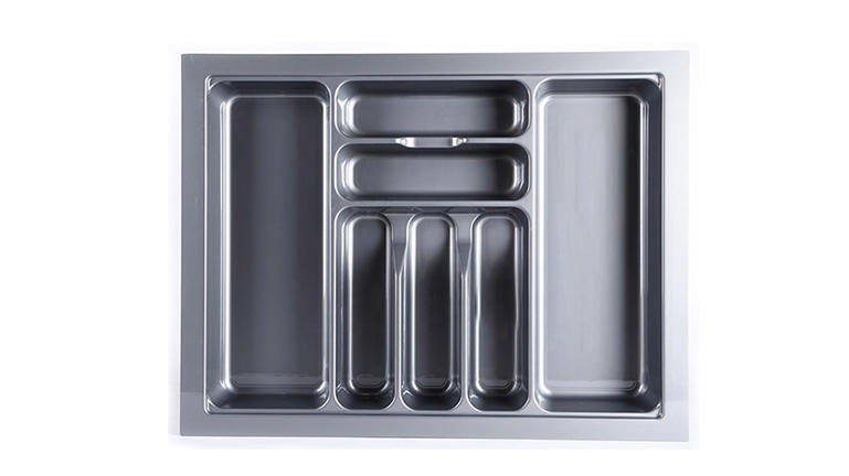 DHP ecofriendly silverware drawer organizer design for housekeeping