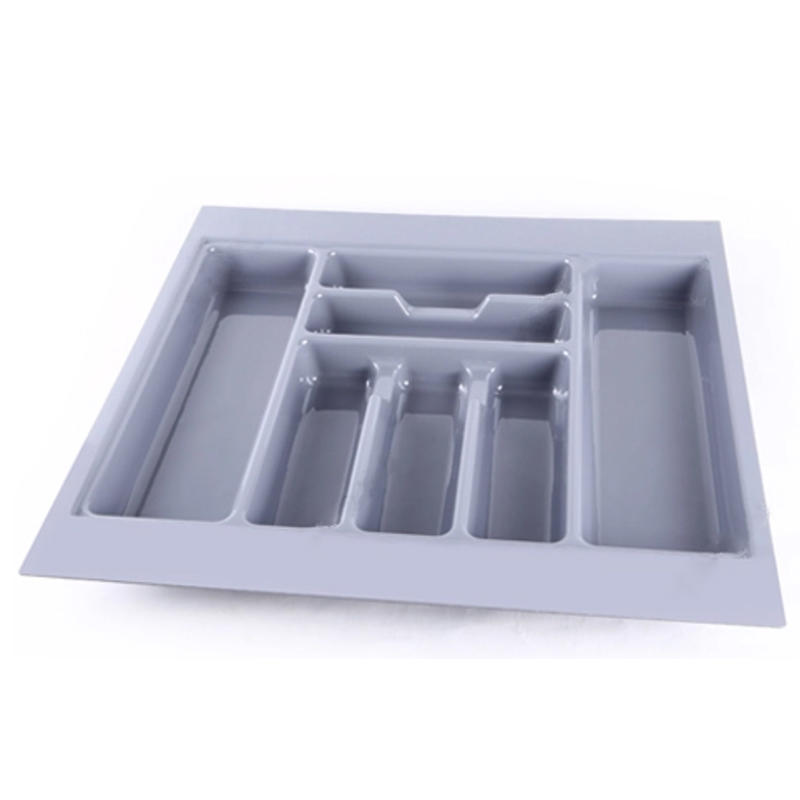 Environmental Plastic Plastic Cutlery Tray Kitchen Utensil Plastic Tray For Knife HJ-C800