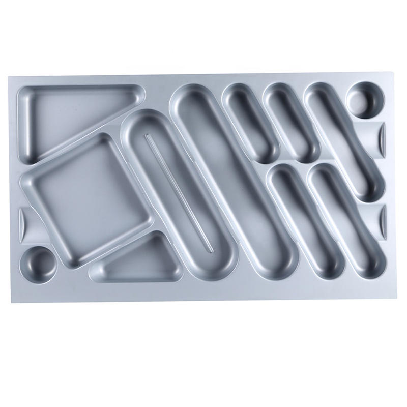 Professional Plastic Cutlery Settings Kitchen Equipment Cutlery Tray For Dish HJ-E900