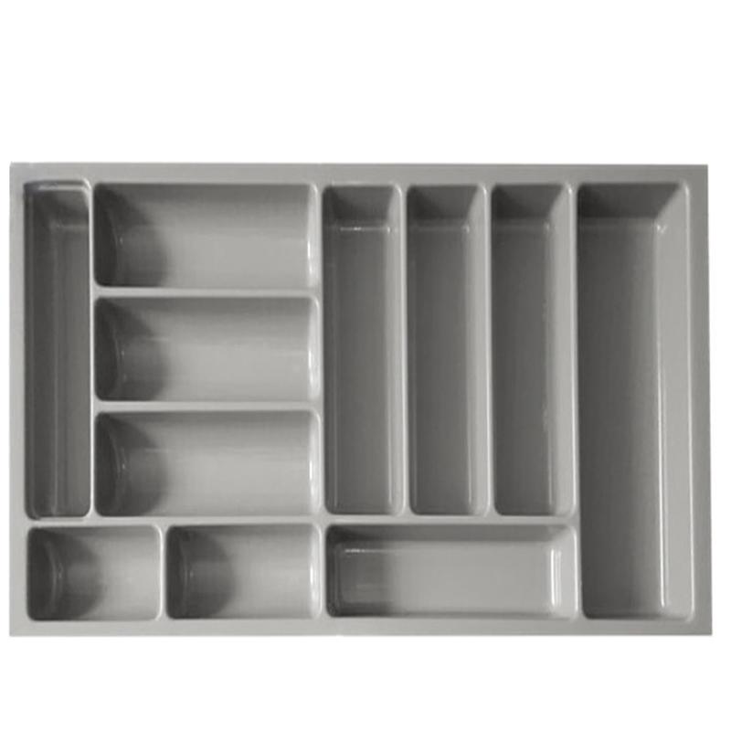 Plastic Kitchen Expanding Flatware Storage Cutlery Tray HJ-G900