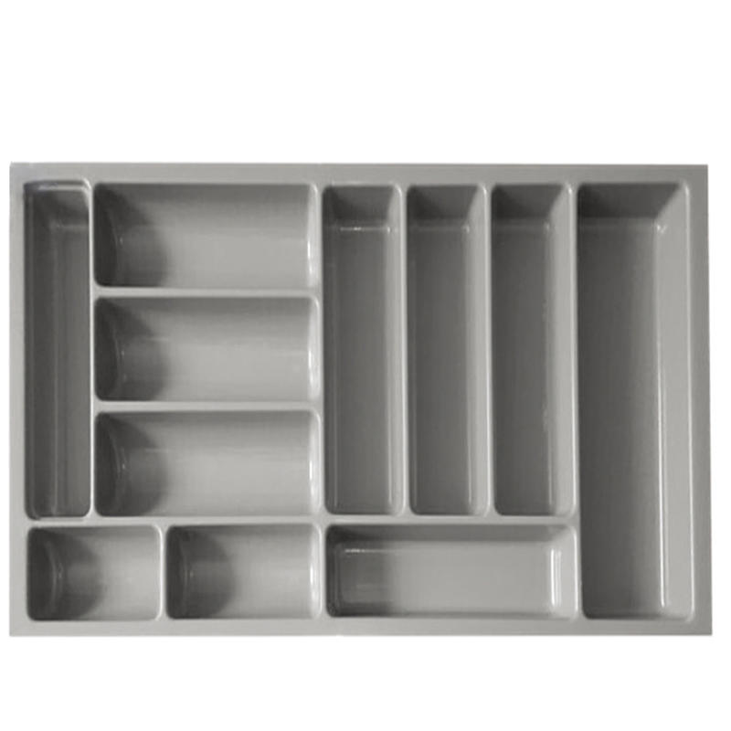 Plastic Kitchen Expanding Flatware Storage Cutlery Tray HJ-G900