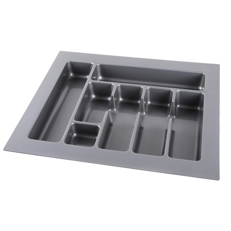 Food grade ABS cutlery tray is widely used for kitchen HJ-H600