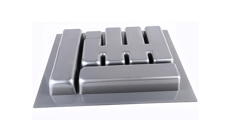 stackable cutlery holder ABS plastic customized for cabinets