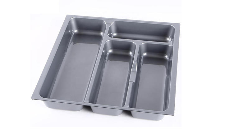 stackable plastic cutlery tray drawer type wholesale for cabinets