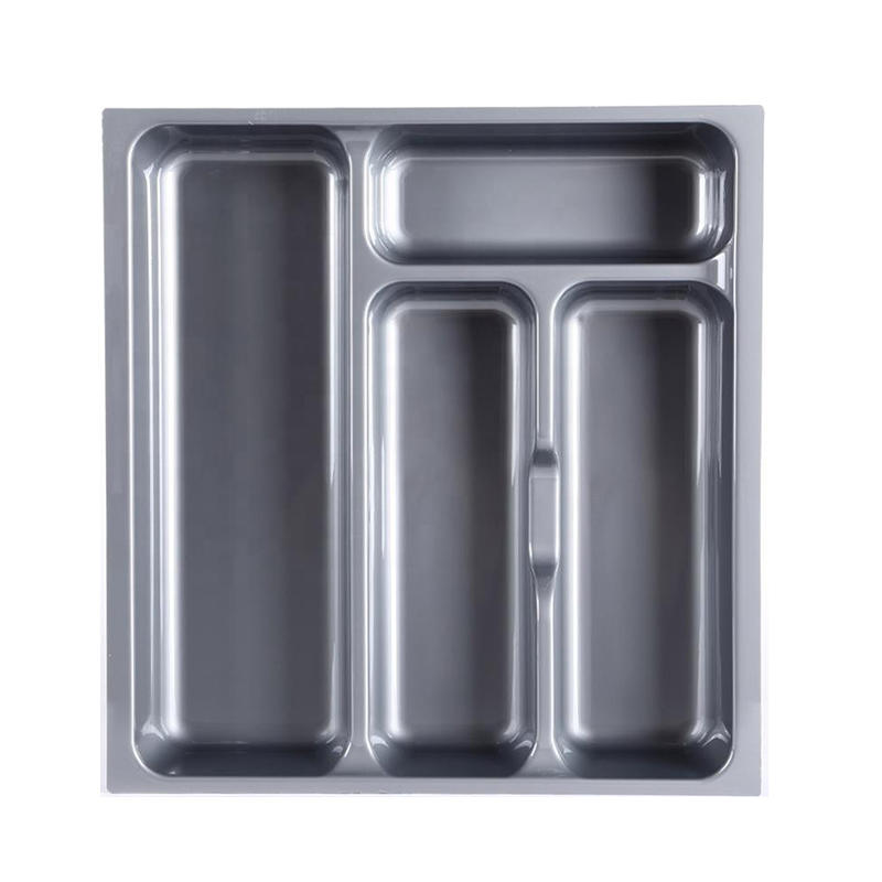 Custom Plastic Kitchen Drawer Cutlery Tray for Kitchen Drawers HJ-I003