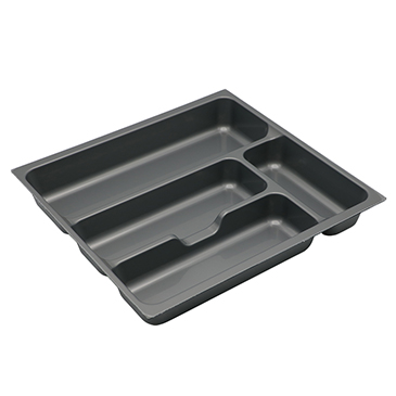 stackable plastic cutlery tray drawer type wholesale for cabinets-1