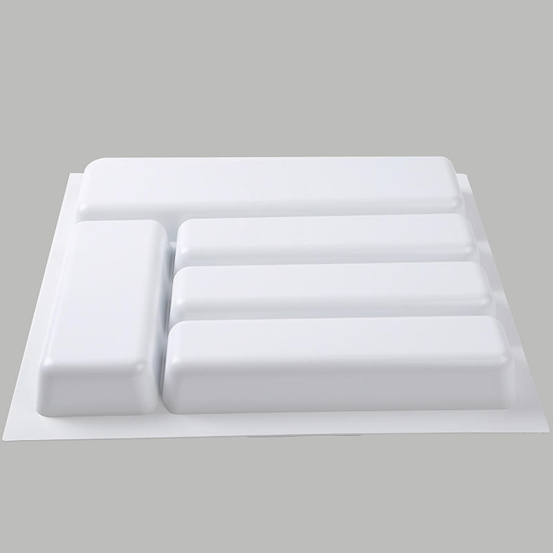 Environmentally Friendly Kitchen Cabinets: Eco-friendly Durable Plastic Cutlery Tray For Knife And