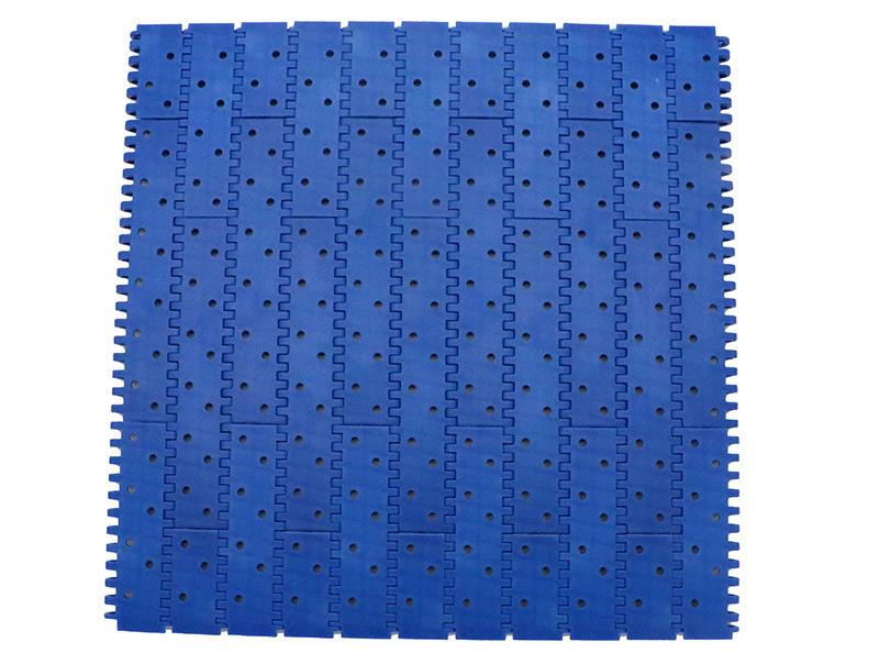 Plast link Flat Top Straight Run Plastic Food-grade Modular Conveyor belt