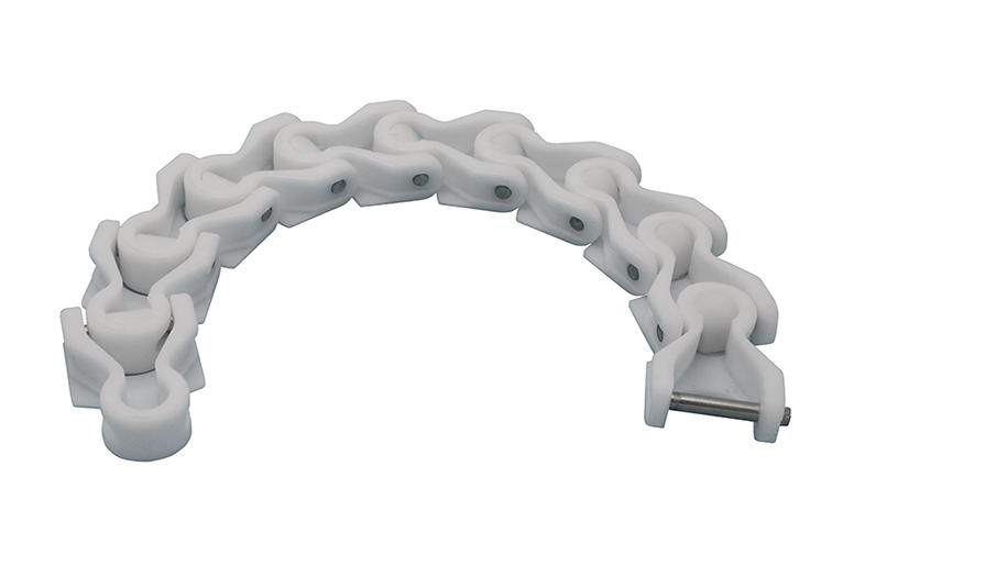 DHP multiangle plastic conveyor chain manufacturer for boxes conveyor