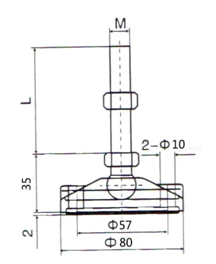 DHP smooth kitchen unit legs manufacturer for table-3