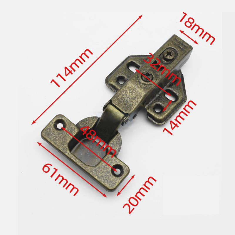 Made in China 35mm Cup Hydraulic Furniture Hardware Antique Hinge