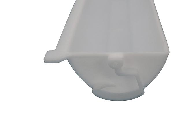 efficient elevator buckets food grade pp supplier for hoist conveyor special bucket-4
