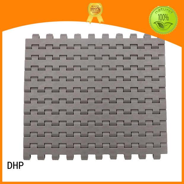 DHP wear resistant modular conveyor belt factory for PET bottle conveyor