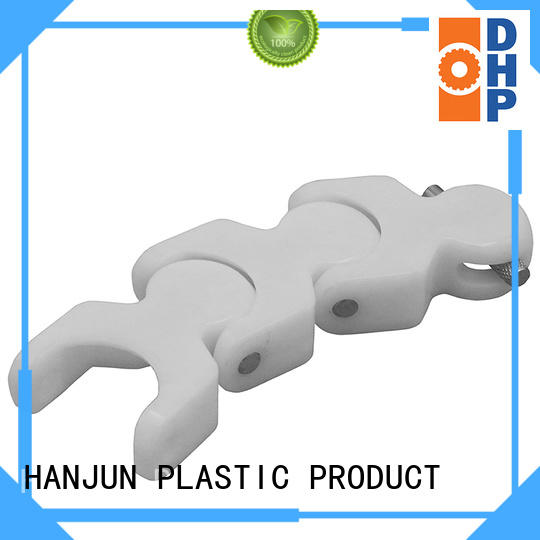 straight running plastic conveyor chain manufacturers perforated for boxes conveyor DHP