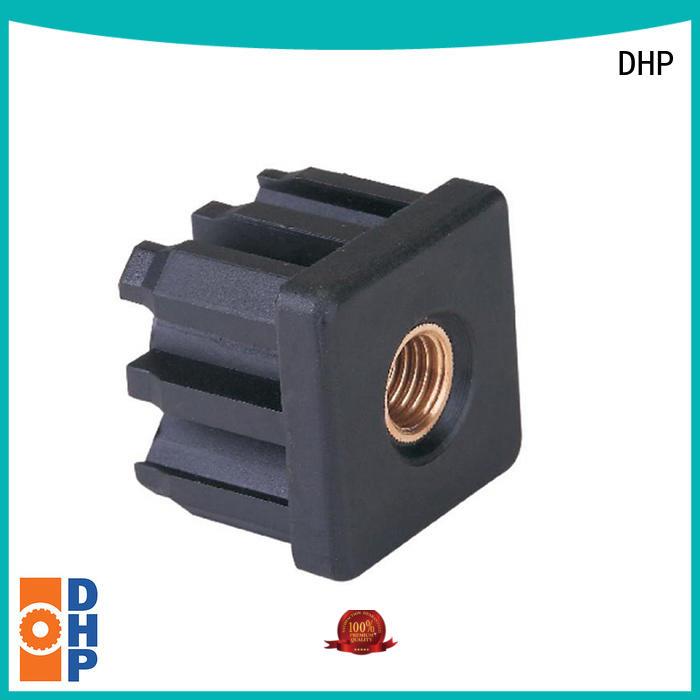 long lasting plastic conveyor components black design for heavy load transportation