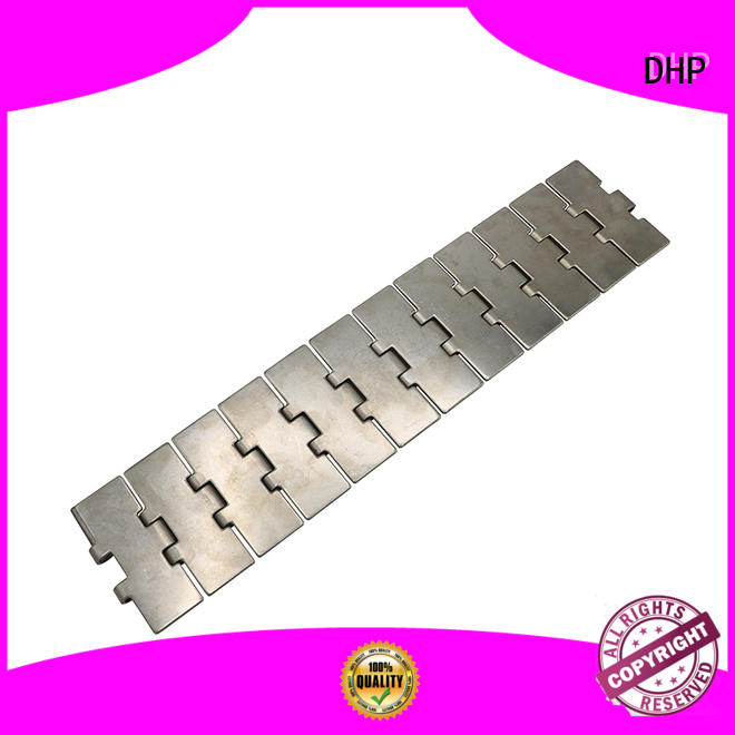 DHP perforated conveyor chain manufacturers series for boxes conveyor