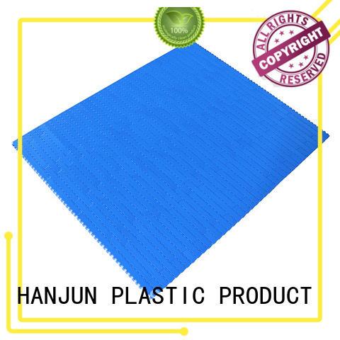 DHP pom material conveyor belt suppliers factory for PET bottle conveyor