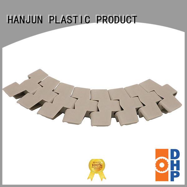 DHP stainless steel plastic conveyor chain factory for food conveyor