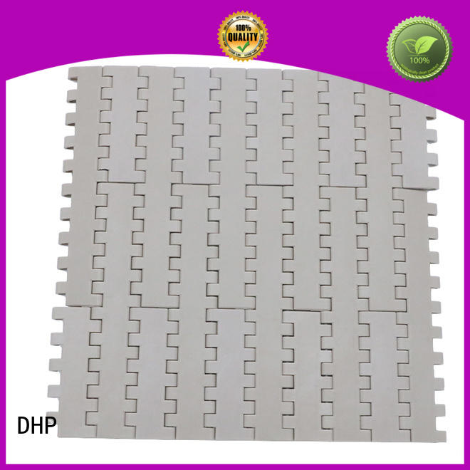 DHP modular rubber conveyor belt manufacturers pp white for conveyor machinery