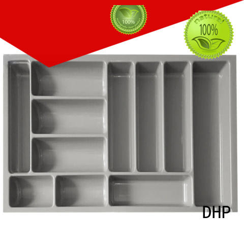 DHP stackable utensil drawer organizer customized for housekeeping