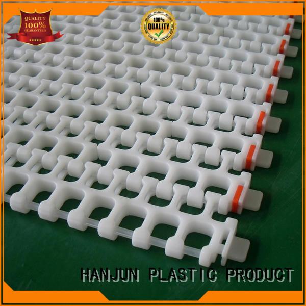 DHP modular conveyor belt suppliers customized for food conveyor