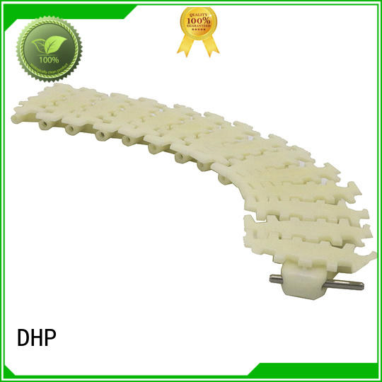 DHP straight running plastic conveyor chain manufacturers manufacturer for boxes conveyor