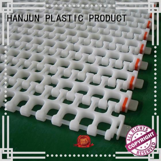 modular plastic conveyor belt pom material supplier for food conveyor
