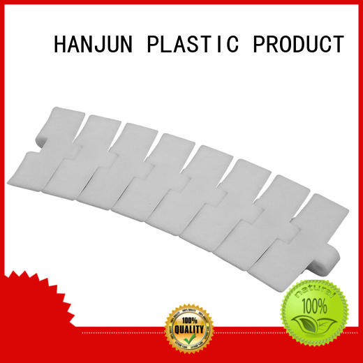DHP straight running plastic conveyor chain manufacturers factory for food conveyor