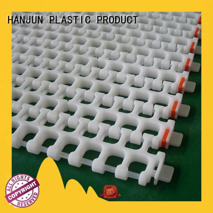 DHP modular plastic conveyor belt customized for conveyor machinery