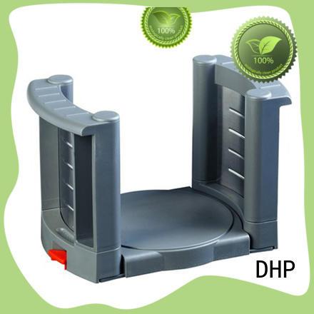 DHP adjustable black dish rack grey for tableware