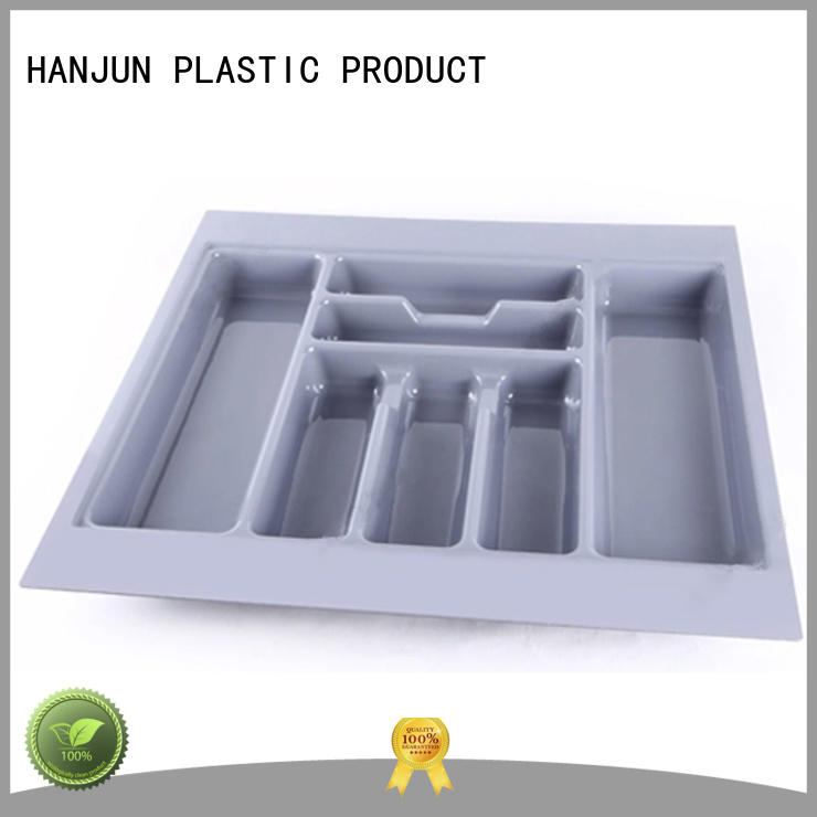 practical plastic cutlery tray vacuum supplier for cabinets