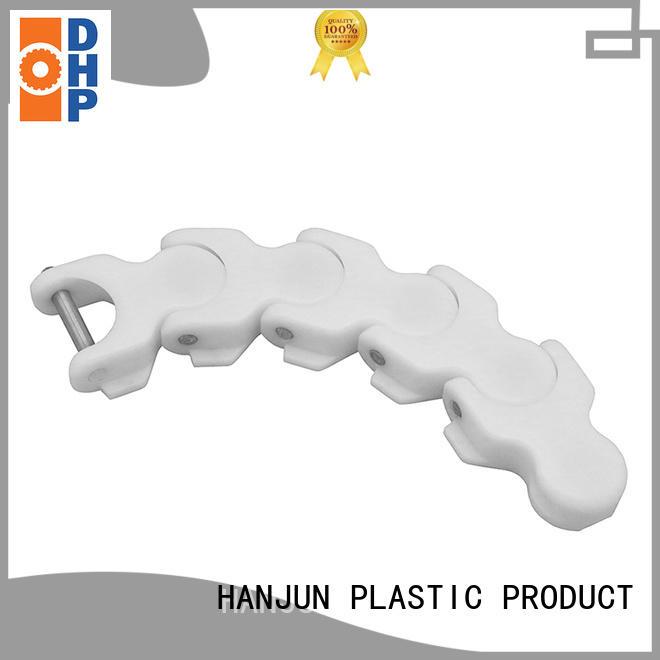 DHP long lasting plastic conveyor chain wholesale for food conveyor