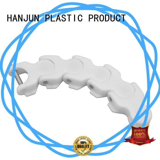 DHP antistatic plastic conveyor chain manufacturers wholesale for boxes conveyor
