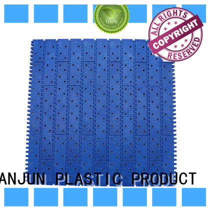 DHP wear resistant plastic conveyor belt factory for PET bottle conveyor