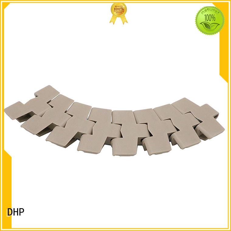 DHP flexible conveyor chain manufacturers series for boxes conveyor