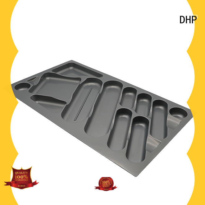 DHP ABS plastic kitchen drawer inserts supplier for tableware