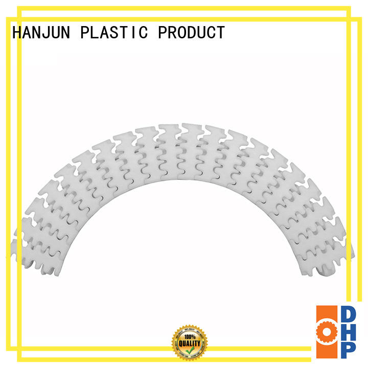DHP multiangle plastic conveyor chain manufacturers manufacturer for food conveyor