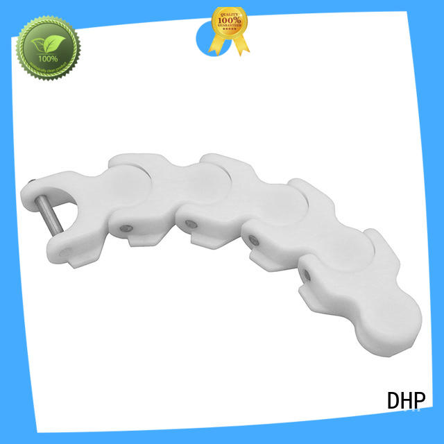 DHP modular plastic conveyor chain manufacturers wholesale for boxes conveyor