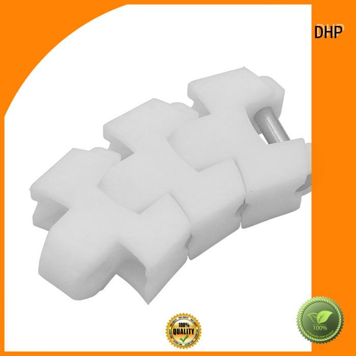 DHP long lasting plastic conveyor chain manufacturers wholesale for boxes conveyor