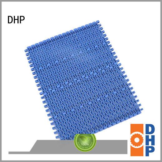 pp white pvc conveyor belt straight running for food conveyor DHP