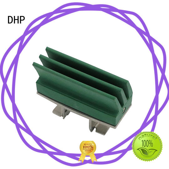 DHP double round plastic conveyor parts manufacturer for conveyor machine