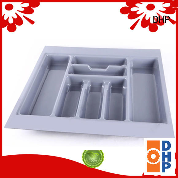 DHP multifunctional plastic cutlery tray wholesale for housekeeping