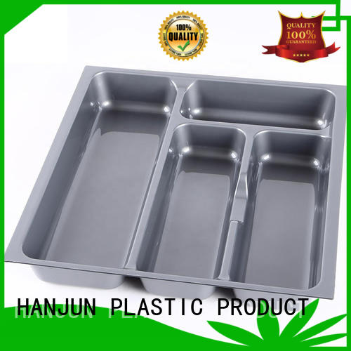 DHP smooth surface cutlery holder customized for tableware