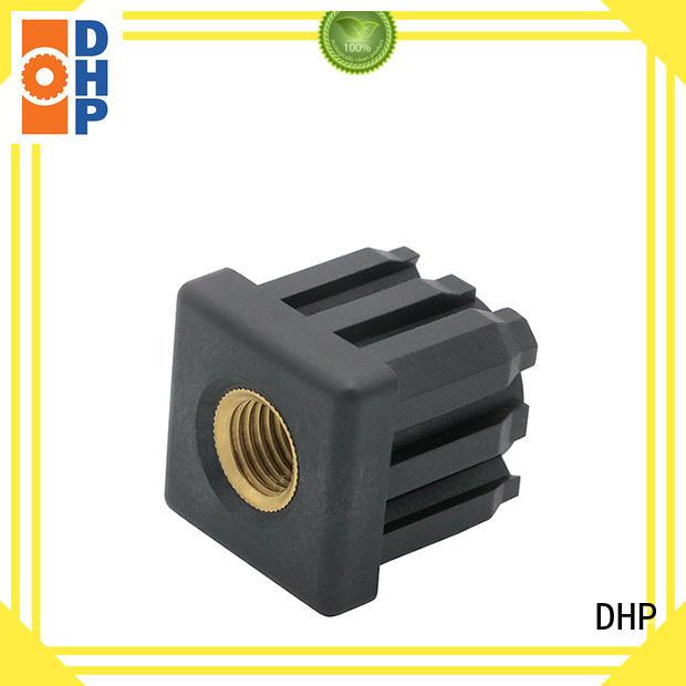 square threaded roller conveyor parts plastic for conveyor machine DHP