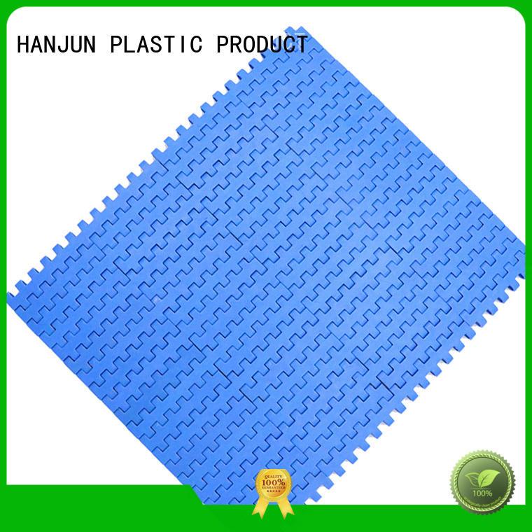 DHP pom material plastic conveyor belt factory for food conveyor