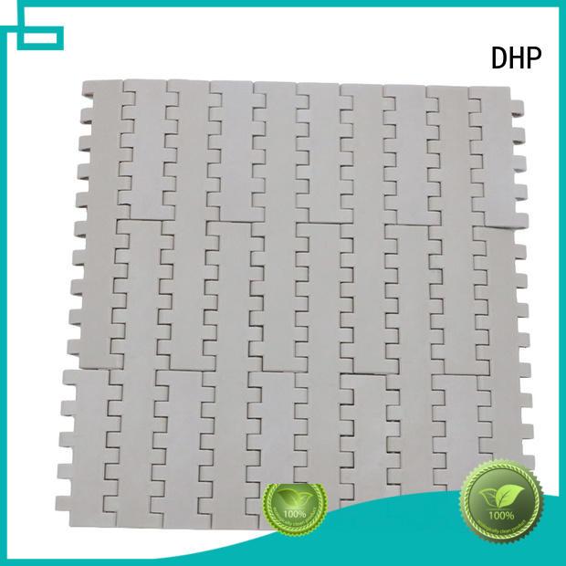 wear resistant industrial conveyor belts pom material customized for PET bottle conveyor