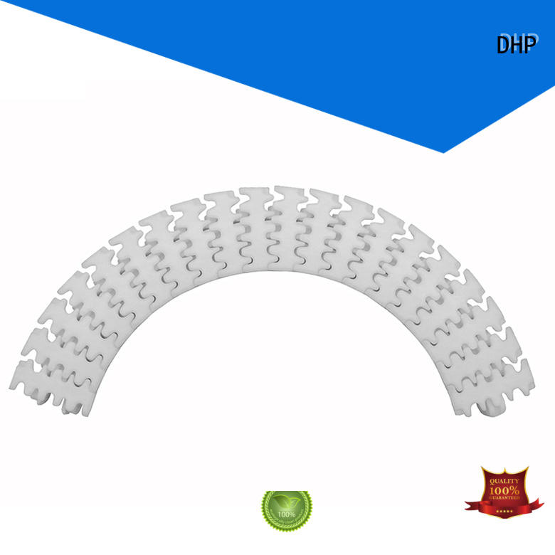 DHP POM conveyor chain suppliers manufacturer for boxes conveyor