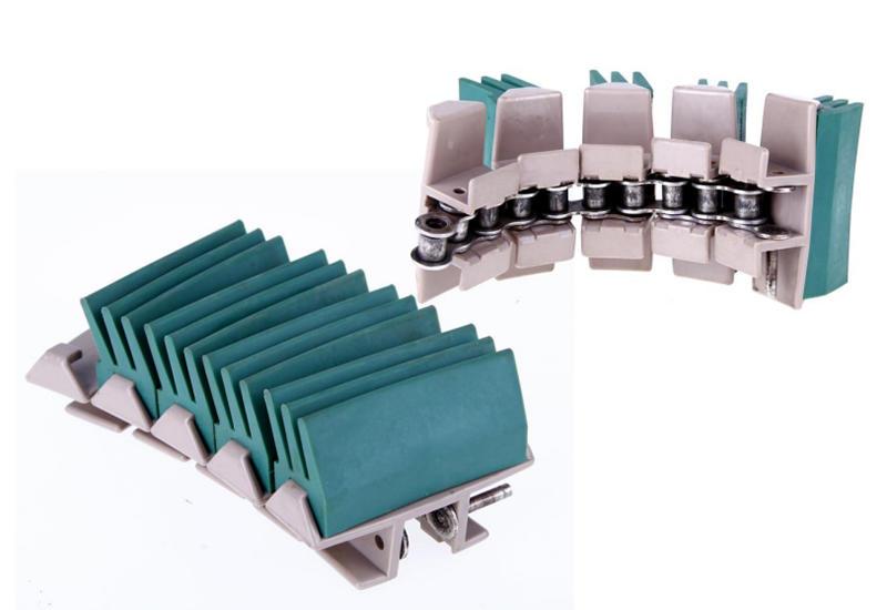 antiskid gravity conveyor parts plastic customized for drag chain-2